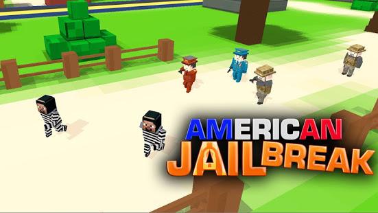 Aperçu American Jail Break - Block Strike Survival Games - Img 1