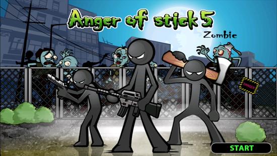 Aperçu Anger of stick 5 : zombie - Img 1
