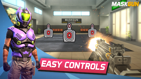 Aperçu MaskGun Multiplayer FPS - Free Shooting Game - Img 1
