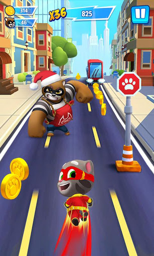 Aperçu Talking Tom Hero Dash - Run Game - Img 2