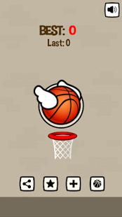 Aperçu Flappy Ball - Ball through the Basket - Img 1