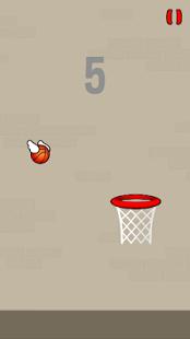 Aperçu Flappy Ball - Ball through the Basket - Img 2