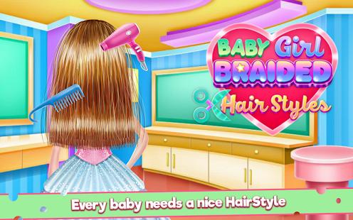 Aperçu Baby Girl Braided Hairstyles - Img 1