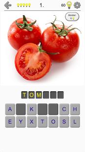 Aperçu Fruits et légumes, noix et baies - Le photo-quiz - Img 1