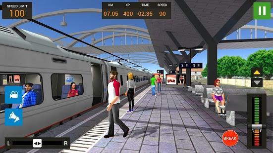 Aperçu Train Simulateur Gratuit 2018 - Train Simulator - Img 1