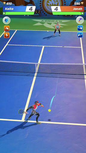 Aperçu Tennis Clash: 3D Sports - Free Multiplayer Games - Img 1