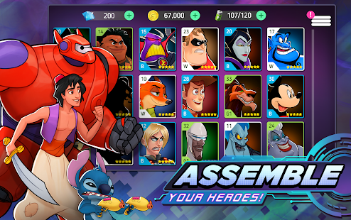 Aperçu Disney Heroes: Battle Mode - Img 2